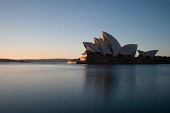 Sydney sunrise (Chris Herzog) Tags: ifttt 500px sydney sunrise travel australia opera house blue lights morning landmark long exposure reflection