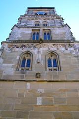 St. Marien, Königsberg in Bayern (palladio1580) Tags: kirchturm bayern franken unterfranken landkreishasfurt königsberg kirche stadtkirche gotik