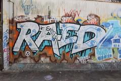 RAED (TheGraffitiHunters) Tags: graffiti graff spray paint street art colorful pa pennsylvania philly philadelphia bando abandoned building raed