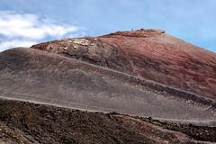 Etna region (Eva Haertel) Tags: eva haertel canon5dmarkiii travel reisen italien italy sizilien sicily mountain landscape sky soil erde na ätna gebiet region krater crater wandern walk wanderer walker layers schichten