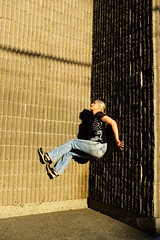 Stuck In (eddi_monsoon) Tags: threesixtyfive 365 selfportrait selfie self portrait wall climb