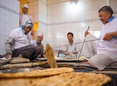 Naan bakery in Mashhad, Iran (TeunJanssen) Tags: bakery naan iran mashhad bread travel traveling olympus omd em10 omdem10 backpacking