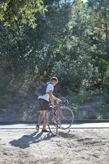 Clément (Heloïse Crt) Tags: landes france surf hourtin lake lac vélo port bateaux