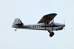 G-AYTT   Phoenix PM-3 Duet [PFA 841] Sywell~G 03/07/1976 (raybarber2) Tags: abpic airportdata cnpfa841 egbk flickr gaytt pfa841 planebase single slide ukcivil