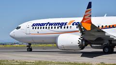 Boeing 737-8 MAX I OK-SWA I Smartwings (Gustavo H. Braga) Tags: boeing max b7378max aviation airplanes airport aviação aviacao aviao aeronaves aeroporto madrid openday photo