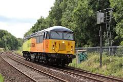 COLAS Rail 56090 - Mansfield (the mother '66' 66001) Tags: colasrail colas class56 56090 mansfield robinhoodline victoriastreet 0z22 barnetby nottinghamshire railways rail