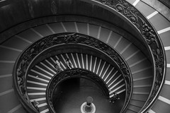 Spiral (lidia.lp) Tags: blackandwhite bnw stairs architecture vatican