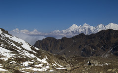 look at Ganesh Himal (Henry der Mops) Tags: 90a7936 langtangnationalpark landscape berge berglandschaft mountain mountainlandscape mountains bergkette langtanggosainkundatrek canoneos7dmarkii henrydermops mplez schnee snow langtanghimal laurebinala4650m nepal asien asia see