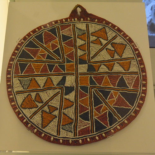 London, England, UK - British Museum - Masarafad (Somali Woven Mat for Serving Food)