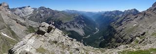 Valle glaciar en U - Valle de Pineta, Pirineos (Huesca, España) - 01