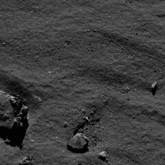 Comet on 17 September from 1.9 km (europeanspaceagency) Tags: esa europeanspaceagency space universe cosmos spacescience science spacetechnology tech technology osiris rosetta mission philae comet chury blackandwhite 67p comet67p comet67pchuryumovgerasimenko churyumovgerasimenko churyumov gerasimenko solarsystem boulder