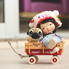 Best friends! (Passion for Blythe) Tags: irrealdoll irrealdollery doll bjd cute tiny pug