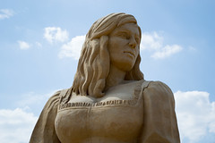 Sandskulpuren Waterfront 11 (akumaohz) Tags: nikon d3200 deutschland germany bremen waterfront sand skulptur sculpture drausen outside cinderella aschenputtel