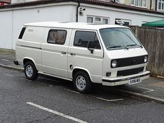 1987 Volkswagen Transporter Camper Van (Neil's classics) Tags: vehicle 1987 volkswagen transporter camper van vw motorhome