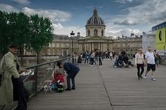 Pont des Arts - Institut de France - Paris (valecomte20) Tags: pontdesarts institutdefrance paris bridge pont seine