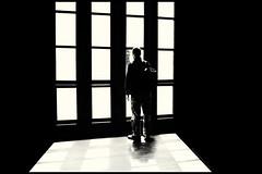 (Ivana Murace) Tags: blackandwhite bn ngc bw silhouette biancoenero inside outside man