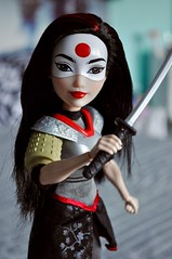 Katana (kimberly °(ᵔᴥᵔ)°) Tags: katana tatsu yamashiro dc comics comic books superhero girls super hero heroine doll dolls action fashion mattel barbie