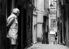 Genova (ale neri) Tags: street bw people genova caruggi italy italia prostitution aleneri streetphotography blackandwhite alessandroneri