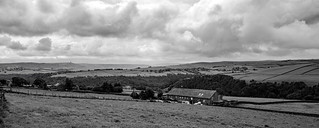 Storm clouds over the Calder Valley