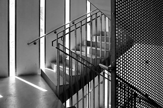 car park staircase