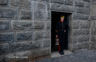 Citadel ghost tour guide