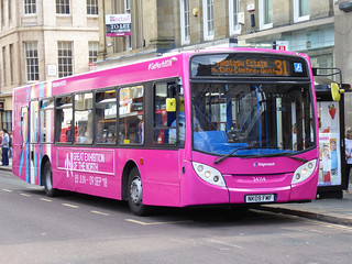 Stagecoach in Newcastle 24114 (NK09 FMF)