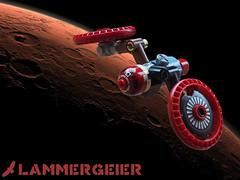 "TG-36 ""Lämmergeier"" (David Roberts 01341) Tags: lego microscale spaceship spacecraft scrapyard junkyard tug"