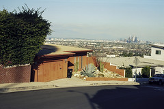 Baldwin Hills (ADMurr) Tags: la baldwin hills horizon view dtla orange blue midcentury leica m6 50mm summicron film kodak ektar daa250