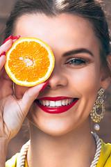 Fruit Punch (NUKAPAPHOTO.UK) Tags: fruit fashion shoot portfolio ukmodel slovakiangirl colours summer nukapa nukapaphoto