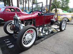 1918 Ford race car (alwaysakid) Tags: race racer automobile antique vintage classic ford open convertible competition wheel