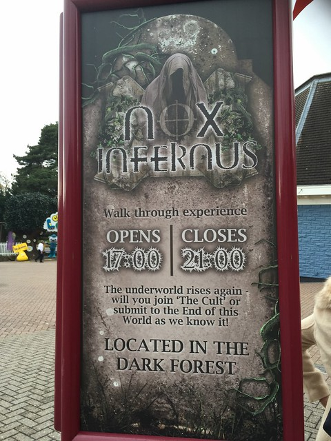Nox Infernus Scare Zone