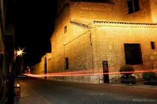 Plaza del Cristo. (2) #Torrijos #Canon #fotografianocturna #largaexposicion #night #longexposure