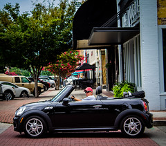 Top Down (Shane Clements) Tags: streetphotograpy onthestreet onthestreets people peopleincars
