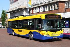 Scania N94UB Omnicity (DennisDartSLF) Tags: norwich bus scania n94ub omnicity 458 konectbus yn05hfh