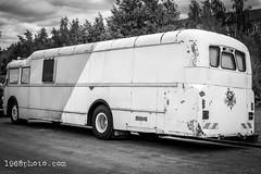Old Bus (1968photo) Tags: vehicle bus fordon old blackandwhite blackandwhitephoto blackandwhitephotography bw sv svartvit monochrome monotone transport publictransportation wheels
