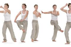 Quigong 3/3 (mattjenkins2) Tags: chigong qigong chi qi gong daoismus taoismus taichi mdchen frau sportlerin sportler turnen ben training trainieren meditation kampfsport kampfkunst verteidigung selbstverteidigung krper geist konzentration bewegungsform judo karate europerin isoliert freigestellt freisteller wei weierhintergrund germany