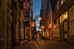 Schnoorviertel Bremen (hph46) Tags: bremen deutschland germany schnoor blauestunde altstadt lichter sony alpha6500 canonef1635mm14lisusm