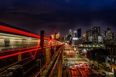 40th Street–Lowery Street (IRT Flushing Line) (Krtz07) Tags: long exposure 40th street–lowery street 7 local train all times irt flushing line mta nycmta nymta newyork longislandcity longisland