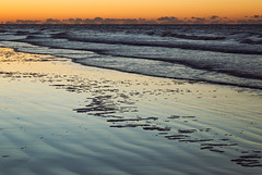 Kiawah Wave Layers (matthewkaz) Tags: kiawah kiawahisland ocean atlanticocean water beach coast coastline shore shoreline sunrise sky clouds reflection reflections sc southcarolina 2017