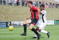 Lewes 0 Carshalton Ath 1 11 08 2018-362.jpg (jamesboyes) Tags: lewes carshalton athletic football soccer fuss ball nonleague sport bostik drippingpan sussex amateur goal score celebrate tackle crowd supporter