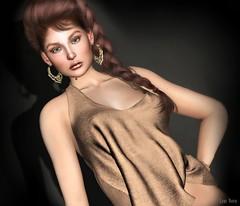 Lori Novo (Lori Novo) Tags: rezology rapture lotus tableauvivant lorinovo secondlife avatar virtual blogger braid girl earrings blouse