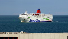18 08 10 Stena Europe arriving Rosslare (3) (pghcork) Tags: stenaline ferry ferries carferry stenaeurope ireland wexford rosslare ships shipping