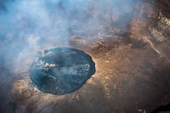 Nyiragongo crater (andreasbrink) Tags: drc landscape aereal virunga vulcano nyiragongo crater lava lake