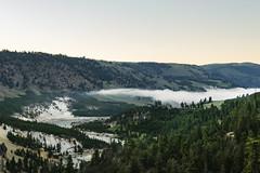 Cloud inversion over Yellowstone river (matthiasvanhove) Tags: clouds inversion usa fujifilm yellowstone park