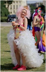 Princess Pride in Brighton 2018 (pg tips2) Tags: pride brighton 2018 prideinbrighton2018 lgbt lgbtq hovelawns pink pinkladies pinklady princess