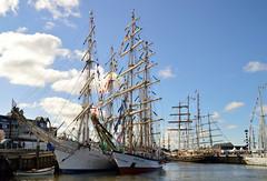 Tall Ships Races Harlingen 2018 (l-vandervegt) Tags: 2018 nikon d3200 nederland netherlands holland hollande niederlande paysbas friesland harlingen sail tallship ship boat boot schip zeilboot event evenement races marine maritime maritiem