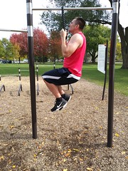Rope Pullup (personaltrainertoronto) Tags: exercise workout fitness fit athlete athletic muscle bodybuilder bodybuilding personal trainer training video pullup bodyweight calisthenics back lats