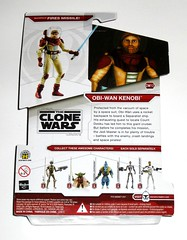 obi-wan kenobi space suit cw12 star wars the clone wars red white packaging cardback basic action figures 2009 hasbro mosc 2b damaged card (tjparkside) Tags: obiwan kenobi space suit spacesuit star wars clone tcw sw cw12 cw 12 red white packaging card cardback basic action figure figures hasbro 2009 mosc backpack firing missile missiles lightsaber helmet outfit hilt obi wan rocket seperatists seperatist ship jedi master pirates 4a7 4a 7 droid yoda whorm loathsam commando trooper echo