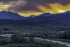 Sunset @ Glacier Natonal Park, Montana (Air Force 2) Tags: sunset glaciernationalpark