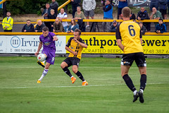 Southport vs Altrincham FC - August 2018-112 (MichaelRipleyPhotography) Tags: altrincham altrinchamfc altrinchamfootballclub alty ball community fans football footy goal haigavenue header kick nationalleaguenorth nonleague pass pitch preseason referee robins salfordcity save score semiprofessional shot soccer southportfc stadium supporters tackle team vanarama